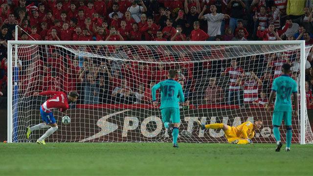 Así fue el penalti de Arturo Vidal que sentenció al Barça