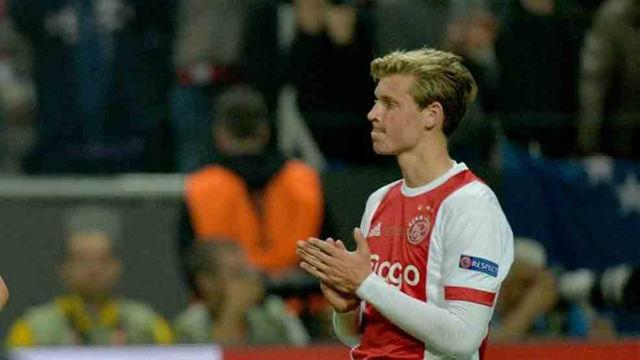 Así juega Frankie De Jong, una de las jóvenes promesas del Ajax