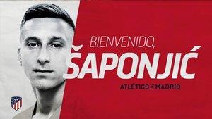 El Atlético dio la bienvenida a su nuevo fichaje