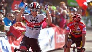 Ayer Pogacar ganó la 13ª etapa y Roglic reforzó su liderato en la general