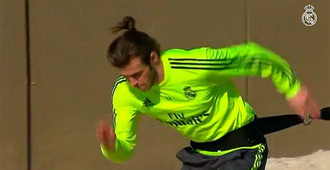 Bale sigue con su recuperación