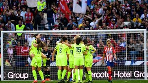 El Barça logró un triunfo vital en el Wanda Metropolitano