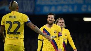 El Barça-Nápoles, más cerca de la suspensión