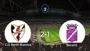 El Beroil Bupolsa gana 2-1 al Becerril en el Campo José Manuel Sedano