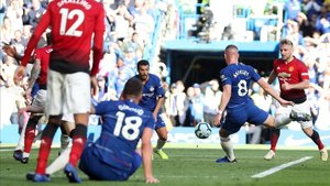 El Chelsea-United liguero se saldó con empate 2-2