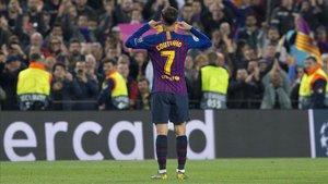 Coutinho encendió la polémica con este gesto tras su gol al Manchester United