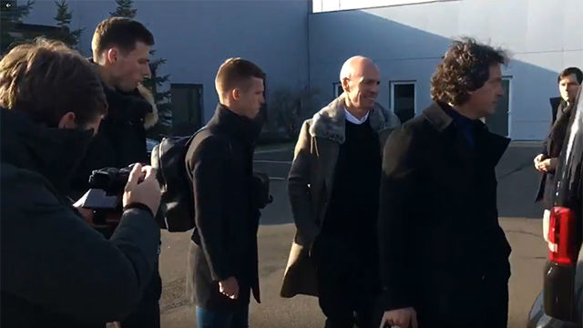 Dani Olmo ya está en Leipzig