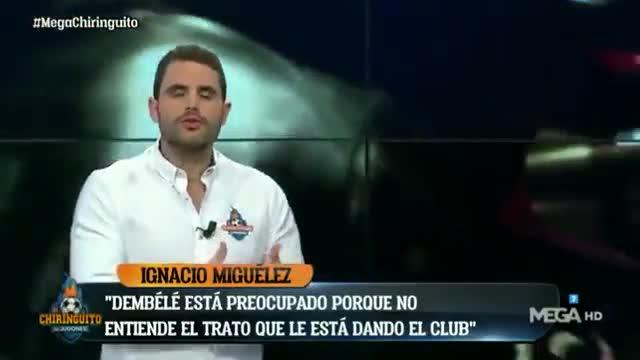 Dembélé estaría molesto con la actitud del Barça