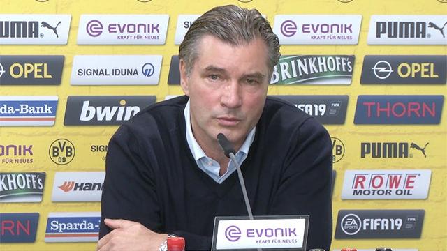 El director deportivo del Dortmund asegura que Achraft se queda