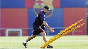 Ernesto Valverde preparó el partido ante el Villarreal
