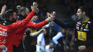 España pasó por encima de Eslovenia en una primera parte estelar