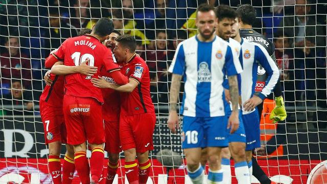 Espanyol y Getafe firman las tablas en Cornellá