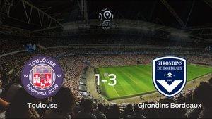 El FC Girondins Bordeos suma tres puntos a su casillero frente al FC Toulouse (1-3)