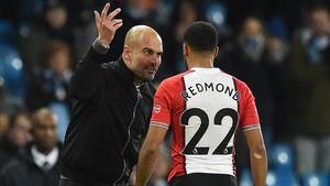 Guardiola asegura que solo le recordó a Redmond lo bueno que es