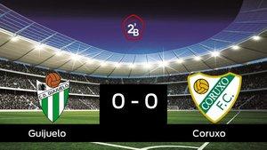 El Guijuelo y el Coruxo empatan (0-0)