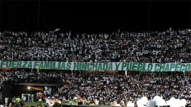 El homenaje de Atlético Nacional al Chapecoense