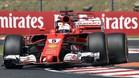 Impecable actuación de Vettel esta mañana en el Hungaroring