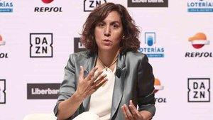 Irene Lozano descarta el regreso del público a los estadios