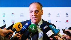 Javier Tebas, presidente de LaLiga de Fútbol Profesional (LFP)