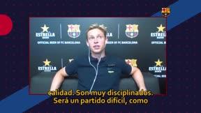 De Jong: Quedan cuatro partidos para ganar la Champions