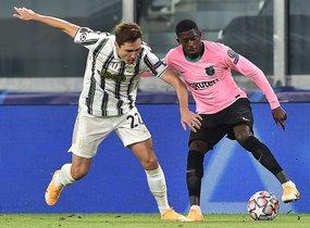Juventus - FC Barcelona partido correspondiente a la jornada 2 del grupo G de la UEFA Champions League disputado en el Juvntus Stadium en Turín.