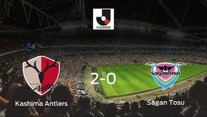 El Kashima Antlerssuma tres puntos más frente al Sagan Tosu (2-0)