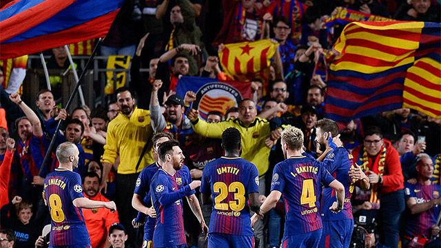 LACHAMPIONS FCB | FC Barcelona - Roma (4-1)