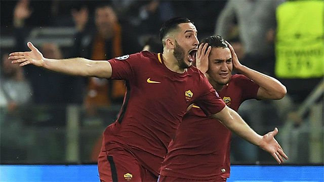LACHAMPIONS | Roma - Barça (3-0): El gol de Manolas