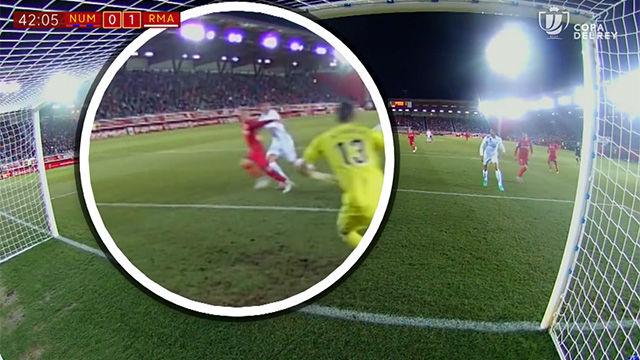 LACOPA | Numancia - Real Madrid (0-3): Los penaltis no pitados al Numancia