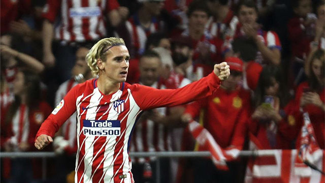 LALIGA | Atlético - Málaga (1-0): Griezmann marcó el primer gol en la historia del Wanda Metropolitano