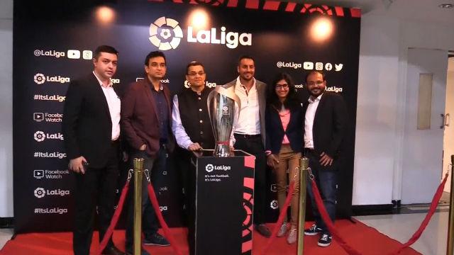 LaLiga firma con Facebook transmisión exclusiva del fútbol español en India