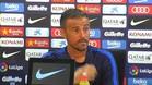 Las palabras de Luis Enrique sobre la sanción a Real y Atlético de Madrid