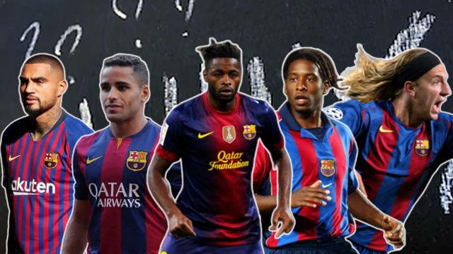 Los 5 jugadores más extraños que han pasado por el Barça