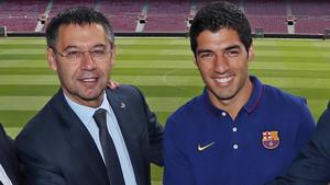 Luis Suárez será jugador del FC Barcelona hasta junio de 2022