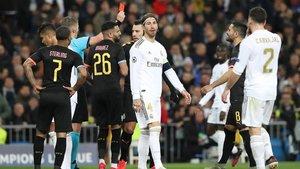 El Madrid buscará la remontada sin su estandarte Sergio Ramos