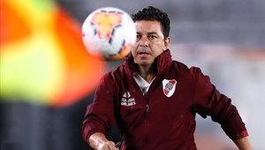 Marcelo Gallardo perdió el el último torneo con River Plate