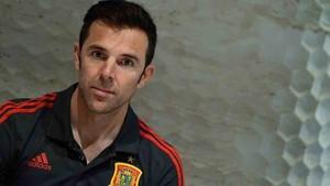 Marchena se ha integrado a la selección española