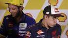Márquez y Rossi, este jueves en Sepang