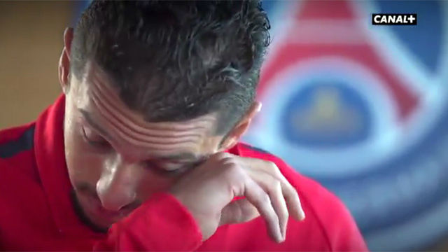 Marquinhos se emocionó al hablar de Lucas Moura