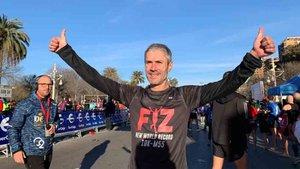 Martín Fiz batió el récord del mundo de 10 kilómetros para mayores de 55 años