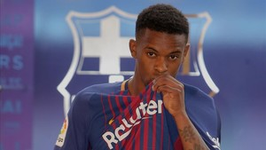 Nélson Semedo ya luce la camiseta del Barcelona