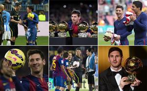 De oro o no, nadie duda del idilio de Messi con el balón
