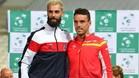 Paire, número uno francés, en la eliminatoria ante España