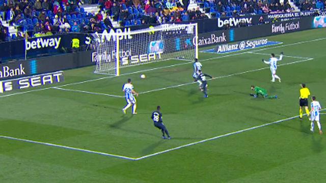 El palo evitó el estreno goleador de Brahim con el Madrid