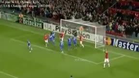 Piqué ya goleaba con el Manchester United