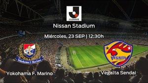 Previa del encuentro: Yokohama F. Marinos - Vegalta Sendai