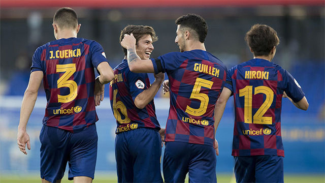 Riqui Puig ya maravilla en el Johan Cruyff Stadiu: golazo por la escuadra