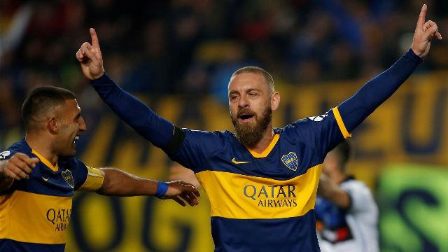 De Rossi debutó con gol en Boca