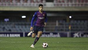 La situación de overbooking de centrales en el primer equipo y sus palabras indican que el futuro del futbolísta está en un equipo de LaLiga Santander