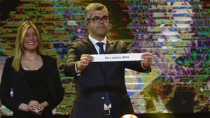 Sortedos los octavos de final de la Copa Libertadores